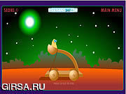 Флеш игра онлайн Прыжок чужеземца