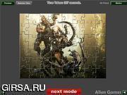 Флеш игра онлайн Чужие против Хищников. Jigsaw / Aliens vs Predator Jigsaw