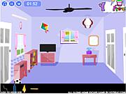 Флеш игра онлайн Освобождение из дома / All Alone Home Escape
