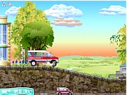 Флеш игра онлайн Машина скорой помощи 2 / Ambulance Truck Driver 2