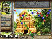 Флеш игра онлайн Подбери пару - Древние камни: Лев / Ancient Jewels: Lion Temple