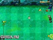 Флеш игра онлайн Злые птички против зомби 3