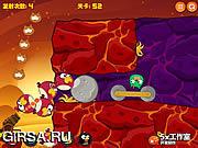 Флеш игра онлайн Злые птицы 3 / Angry Birds 3