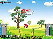 Флеш игра онлайн Злые птички в поисках яиц / Angry Birds Get Eggs