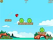 Флеш игра онлайн Злые птички на охоте!