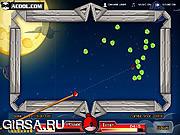 Флеш игра онлайн Сердитые птицы и бильярд