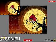 Флеш игра онлайн Злые птички. Пазл / Angry Birds Puzzle - 2 Modes