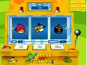 Флеш игра онлайн Сердитые птицы: игровой автомат