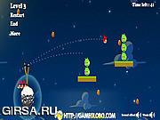 Флеш игра онлайн Angry Birds Space