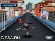 Флеш игра онлайн Разгневанных Гран Run
