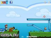 Флеш игра онлайн Злой Марио 2 / Angry Mario 2