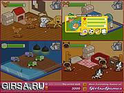 Флеш игра онлайн Приют для Домашних Любимцев