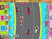 Флеш игра онлайн Anita's Cycle Racing