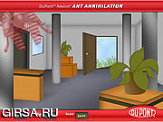 Флеш игра онлайн Аннулируемость муравея / Ant Annihilation