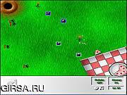 Флеш игра онлайн Назойливые муравьи