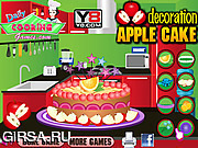 Apple Cake Decoration