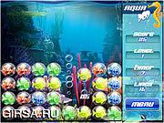 Флеш игра онлайн Aqua Pop