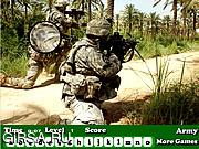 Флеш игра онлайн Армия / Army Hidden Letters