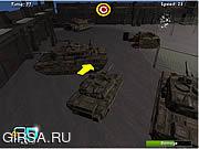 Флеш игра онлайн Армия парковка Моделирование 3D / Army Parking Simulation 3D
