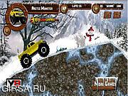 Флеш игра онлайн Монстр на грузовике! / Artic Monster Truck