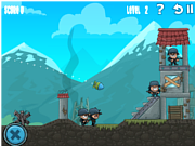 Флеш игра онлайн Удар артиллерии