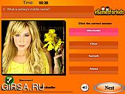 Флеш игра онлайн Эшли Тисдейл / Ashley Tisdale Quiz