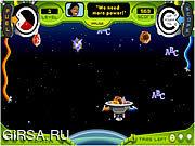 Флеш игра онлайн Лавина Астероидов