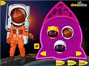 Флеш игра онлайн Девочка-космонавт / Astronaut Girl