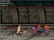 Флеш игра онлайн Attack of the Zombies