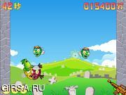 Флеш игра онлайн Awesome Shooting Zombies