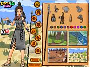 Флеш игра онлайн Принцесса Ацтеков / Aztec Princess