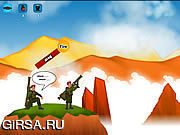 Флеш игра онлайн Bazooka Battle