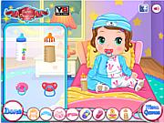 Флеш игра онлайн Уход за малышкой Бонни / Baby Bonnie Blue