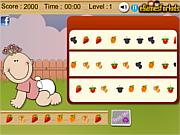 Флеш игра онлайн Соответствие фруктов / Baby Fruit Fun