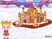 Флеш игра онлайн Малышка Хейзел и пряничные домики / Baby Hazel Gingerbread House