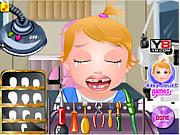 Флеш игра онлайн Малышка Джульет у дантиста / Baby juliet dentist