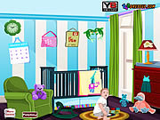 Флеш игра онлайн Декор Детская комната / Baby Room Decor