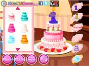 Флеш игра онлайн Ребенок / Baby's First Cake