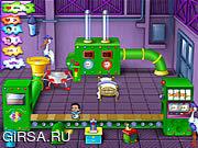 Флеш игра онлайн Детская фабрика / Baby Blimp