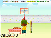 Флеш игра онлайн Backyard Basketball
