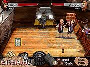 Флеш игра онлайн Backyard Boxing