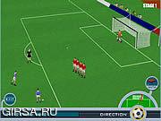 Флеш игра онлайн Супер Удар Роберто Баджо