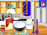 Флеш игра онлайн Зимние пироженые / Bake Winter Cupcakes