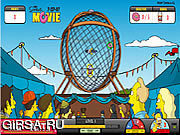 Флеш игра онлайн Simpsons The Ball of Death