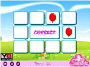 Флеш игра онлайн Веселые шарики / Baloon Pair Touching