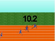 Флеш игра онлайн Барак Обама / Barack Obama's 100meter Dash