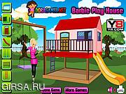 Флеш игра онлайн Кукольный домик Барби / Barbie Play House