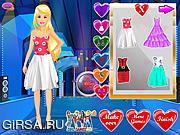 Флеш игра онлайн Наряд для Барби на День Святого Валентина