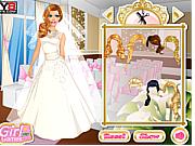 Флеш игра онлайн Свадебный наряд для Барби / Barbie Wedding Dressup