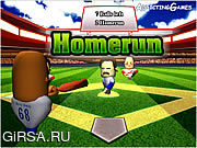 Флеш игра онлайн Бейсбол Juiced